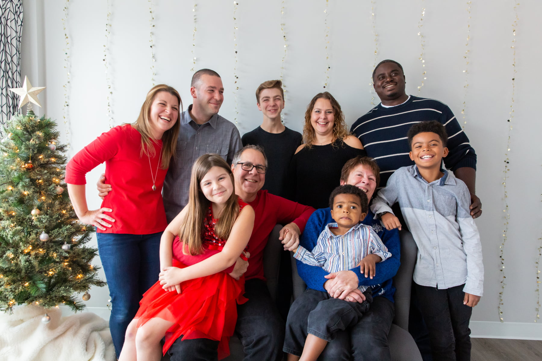 Foster family - Christmas 2018